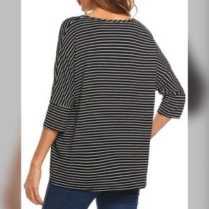 Tops - Casual and comfy 3/4 Batwing tunic style top